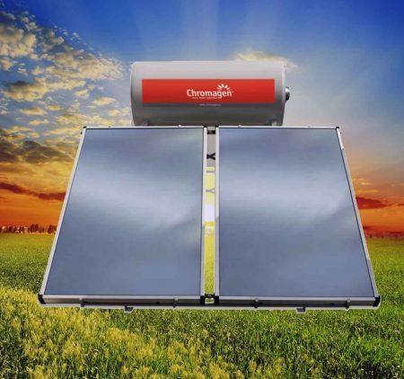 Energía solar térmica - Equipos termosifónicos Chromagen - Dos Hermanas - Sevilla
